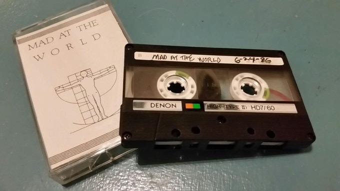 The Demo Tape That Got Us signed....