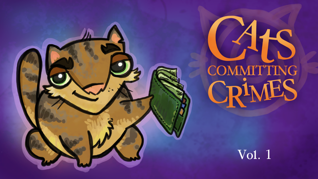 Cats Committing Crimes - Humor Comics Anthology project video thumbnail