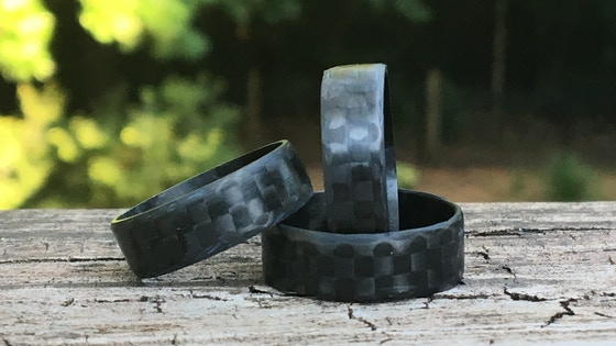 Carbon Fiber Ring - Ultra Light and Thin
