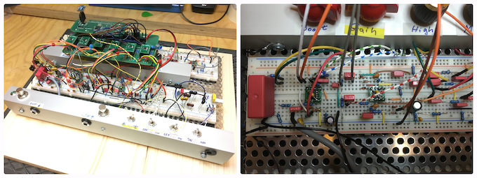 The breadboard prototype