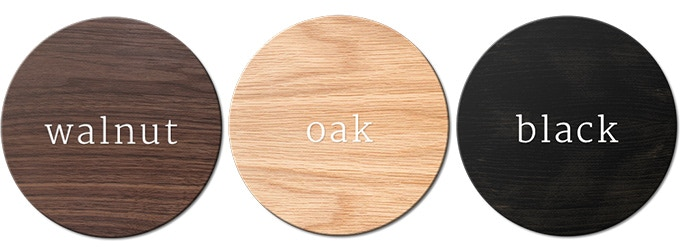 3 solid hardwood finishes to choose from