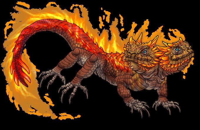 Flame Skitterer (New Monster)