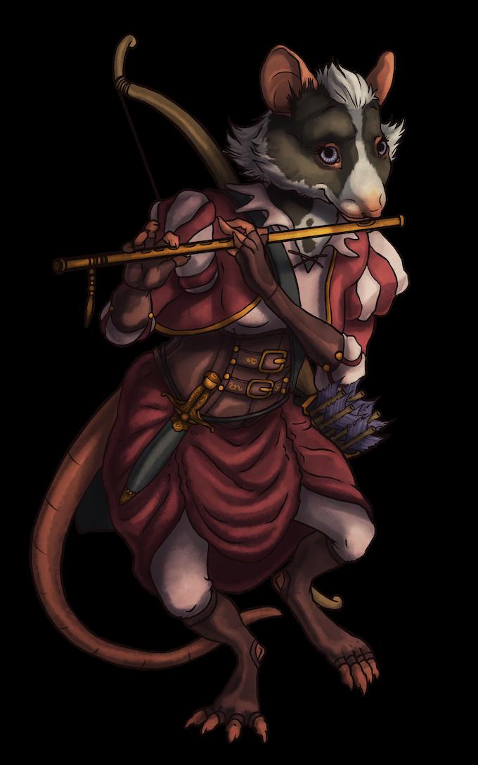 Mouse-kin Bard (Pre-gen Character)