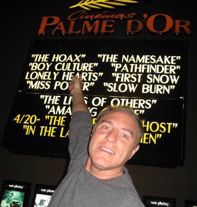"Philip during ""Boy Culture's"" original theatrical run"