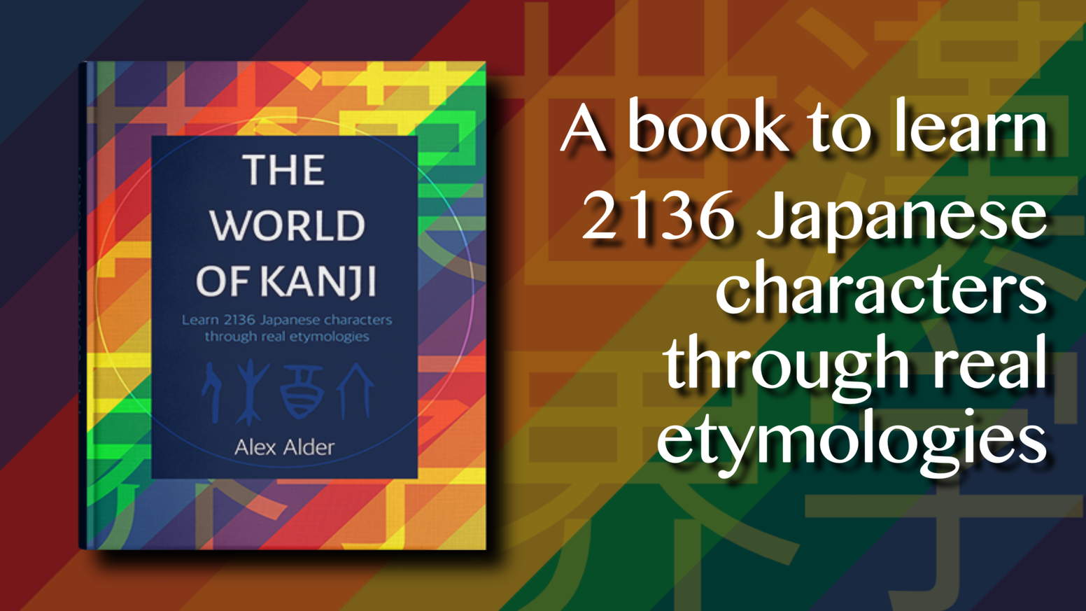 An innovative book to learn and understand 2136 Japanese kanji using real etymologies.