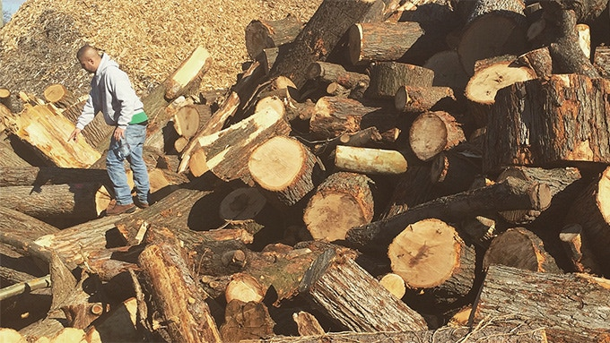 Well Made uses only solid hardwood. Sourced whenever possible from our friends at Big Twigs tree service in Detroit, Michigan