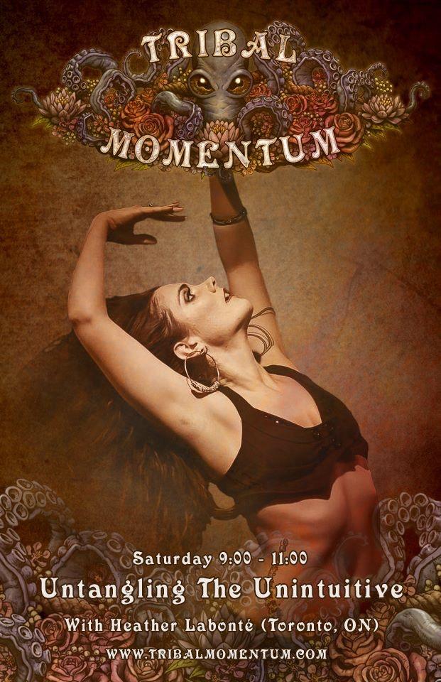 Tribal Momentum Festival 2017 *Montreal tribal bellydance* by Tribal