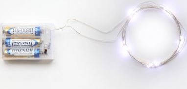 Wired Lights with Separate Batteries