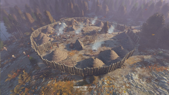 A small fort shall protect us from raiders!