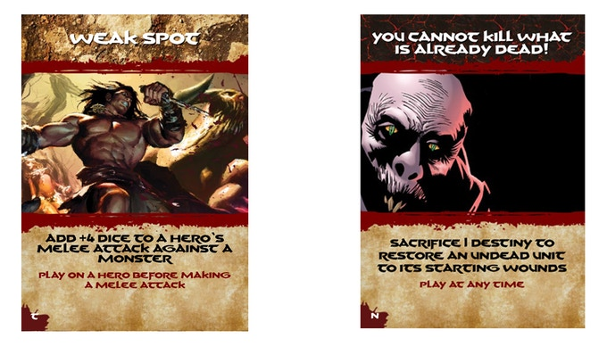 A Fate Card for the savage Circle of Iron and the sinister Legion of Set.