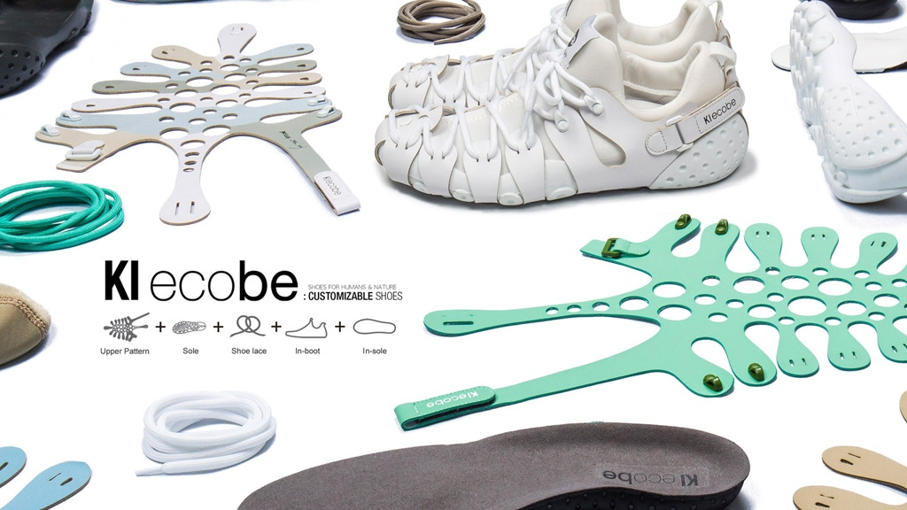 Ki ecobe - Customizable Self Assembled Footwear project video thumbnail