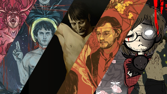 Art sneak peek with works by Pangaea, shoegazerx, Sylfiden, JoyYang [Nim-Lock], BrokenDeathAngel and Amngell (from left to right)