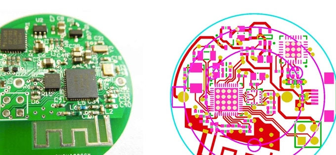 Pre-production custom circuit board