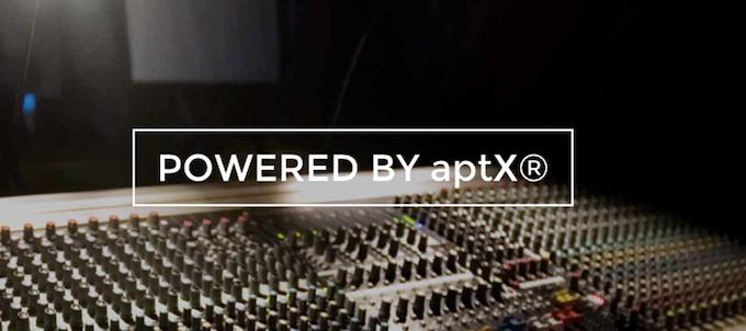 "*(S7-TB) Hi-End CSR aptX™ HD"" feature High Definition Bluetooth® wireless audio"