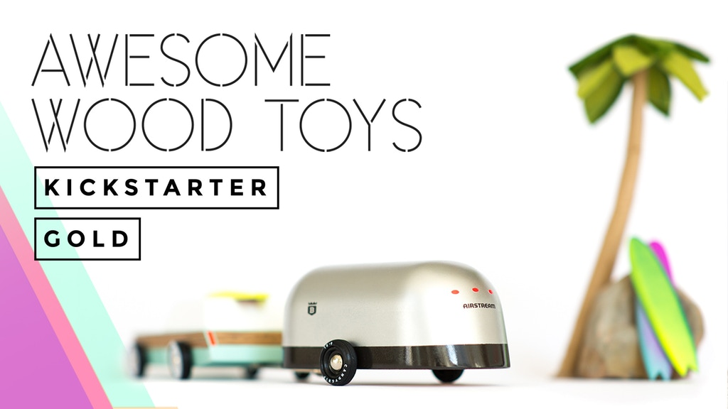 Kickstarter Gold: Awesome Toy Cars, Redux project video thumbnail