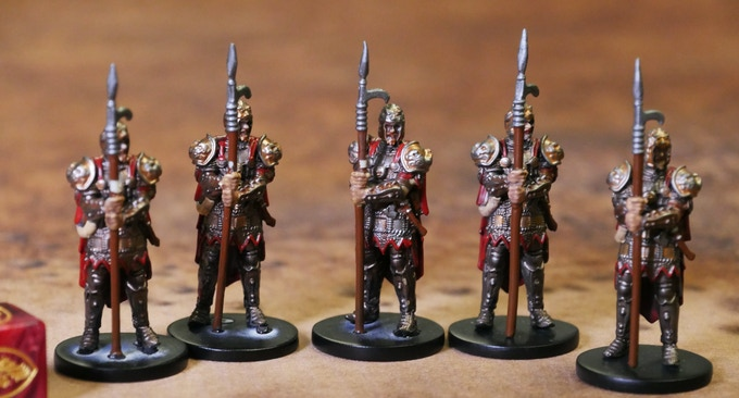 Gunderland Pikemen. Like the archers, we've got a more dynamic pose coming we'll show you as soon as it's in!