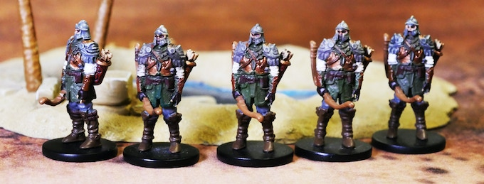 Bossonian Archers. A more dynamic pose is in the works...we'll reveal it as soon as it's done!