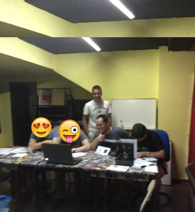 Game test at El Mono Araña