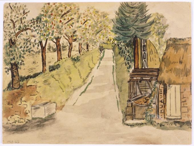 Jeruchim Watercolor Print