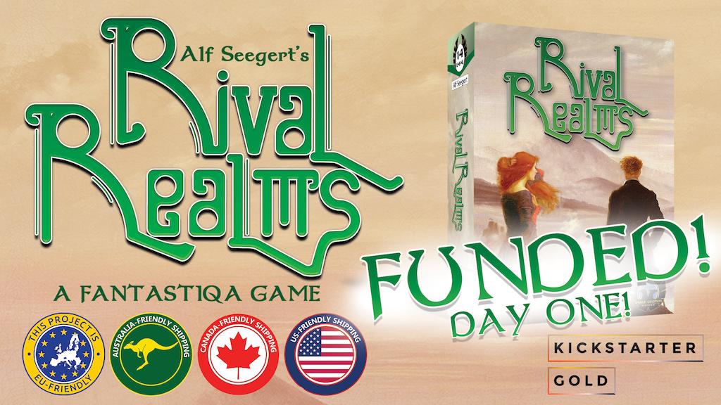 Kickstarter Gold: Fantastiqa - Rival Realms! project video thumbnail