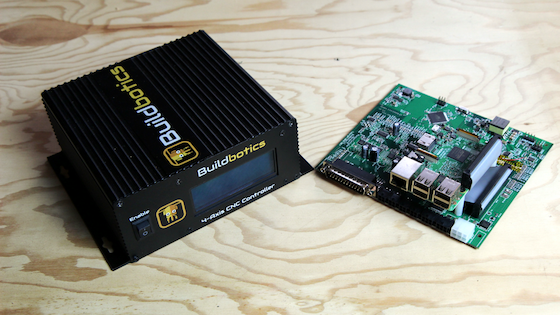 The Buildbotics CNC controller goes great the OX would work