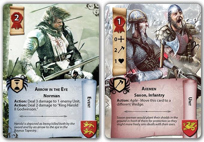 Arrow in the Eye, Saxon Axemen