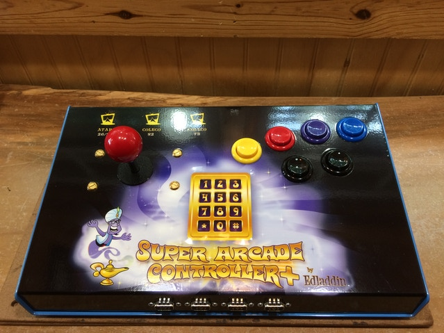 Super Arcade Controllers and Adapters for ColecoVision by Edladdin