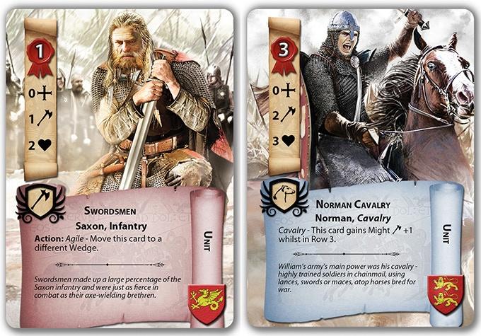Saxon Swordsman, Norman Cavalry
