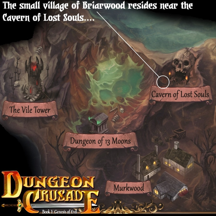 Project Updates For Dungeon Crusade Book I Genesis Of Evil On