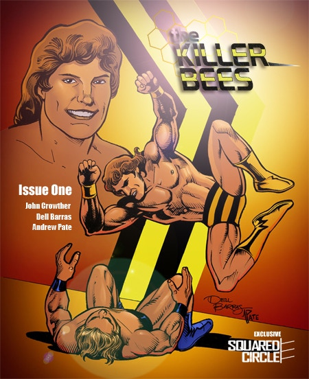 The Kickstarter-Exclusive Cover for The Killer Bees 1 - Available ONLY Via This Kickstarter Campaign! A VERY Limited Number of SIGNED Copies are Available!