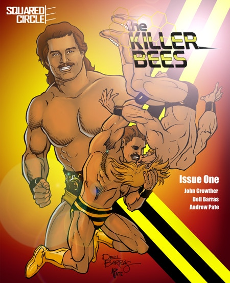 The Standard Edition Cover for The Killer Bees 1! A VERY Limited Number of SIGNED Copies are Available!