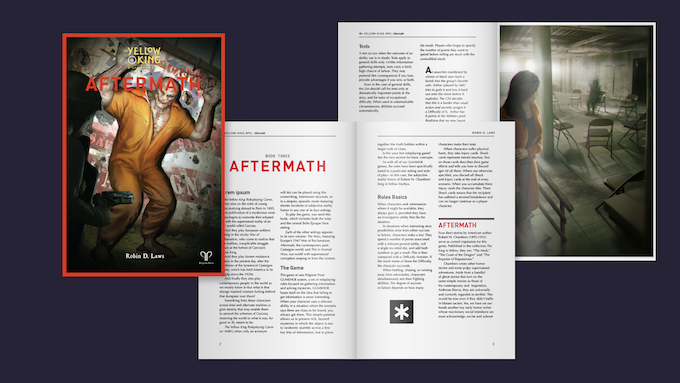 Sample layout for Aftermath
