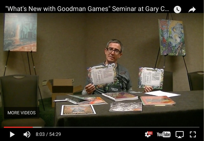 Watch our seminar from Gary Con to see the physical samples!