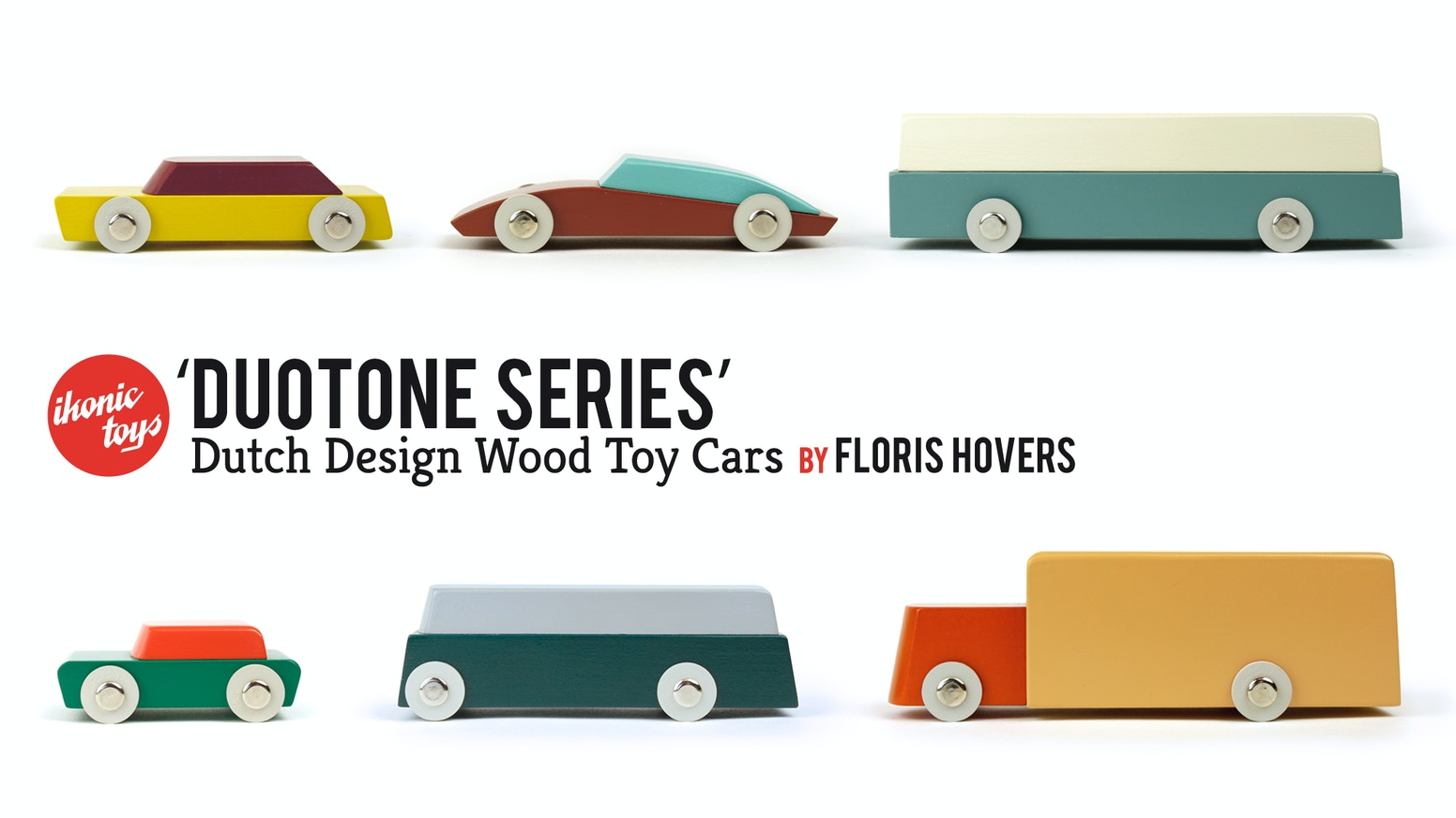 Dutch Design Wood Toy Cars by Ikonic Toys (Maurice Doorduyn ...