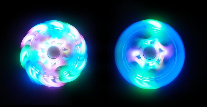 Galaxy Led Fidget Spinner By Futuristic Lights Kickstarter