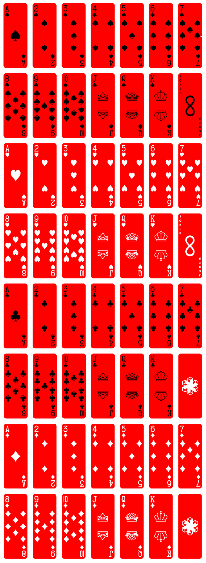 The Air Deck in red color