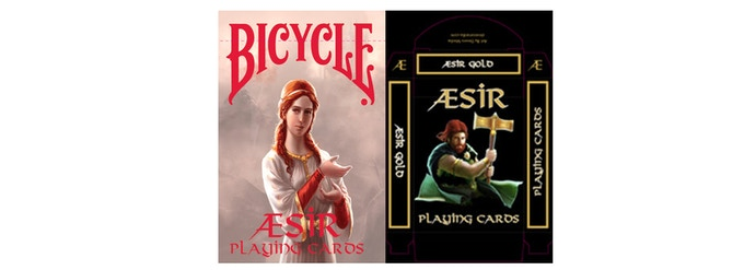 AEsir Red and Gold Tuck Boxes