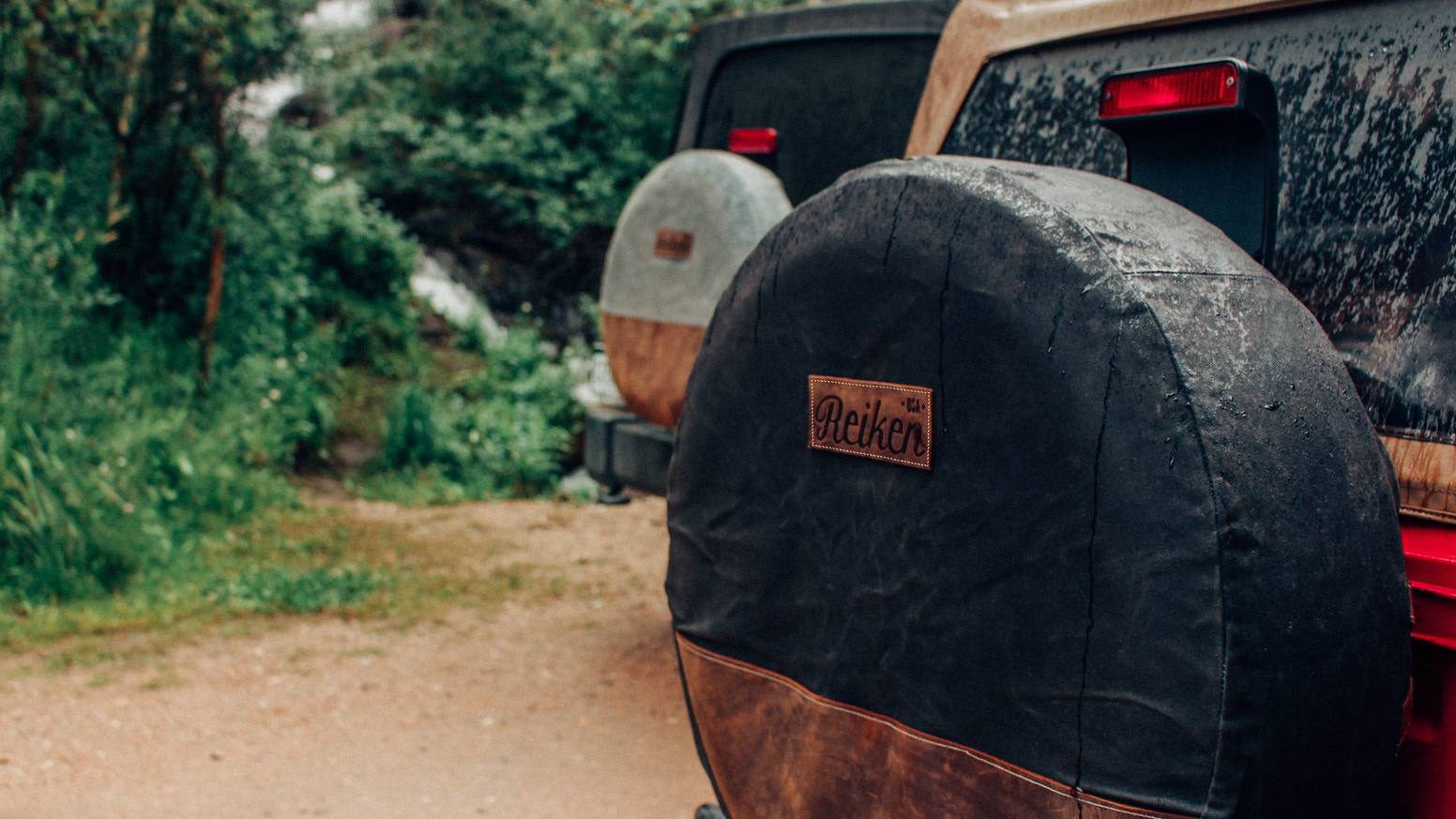 Uniquely designed with both style and durability in mind, Reiken Tire Covers set your off-road vehicle apart from the competition.