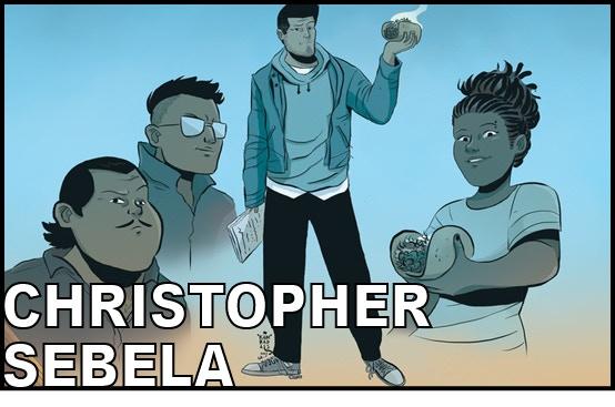 Writer CHRISTOPHER SEBELA (High Crimes, Captain Marvel)