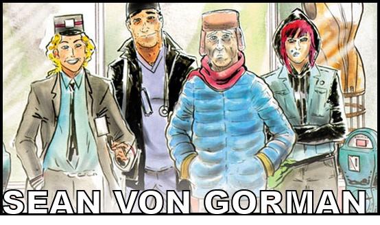 Artist SEAN VON GORMAN (Toe Tag Riot)