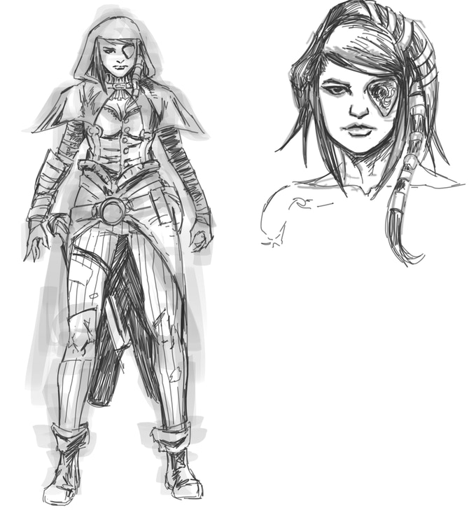 Character Design Kickstarter : Tales from the gutter a magic anthology by rich
