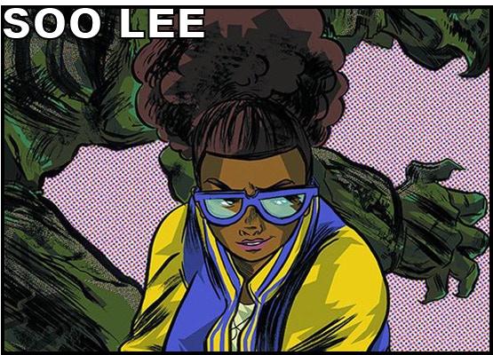 Artist SOO LEE (Strange Attractors, Fight Like a Girl)
