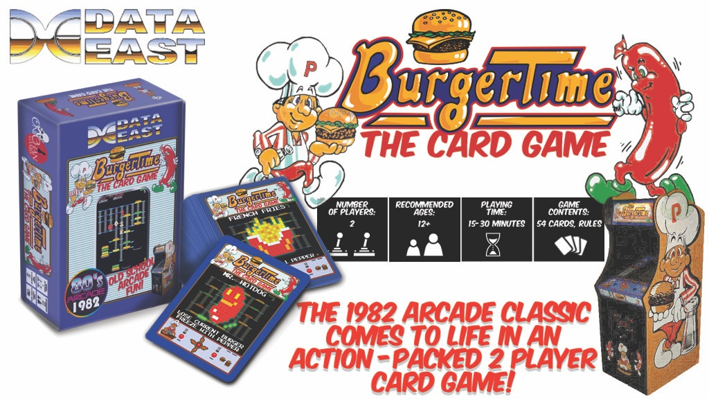 Burger Time: The Card Game project video thumbnail