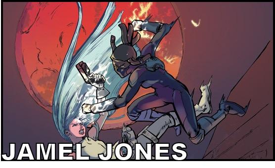 Artist JAMEL JONES (Kamikaze: Wall Tales)