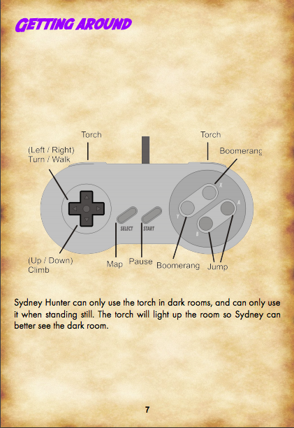 New NES & SNES Game: Sydney Hunter and the Caverns of Death by John