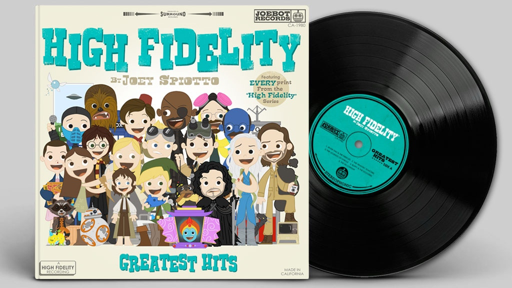 High Fidelity - An Art Book by Joey Spiotto project video thumbnail