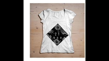 21 Roses T-shirt Brand