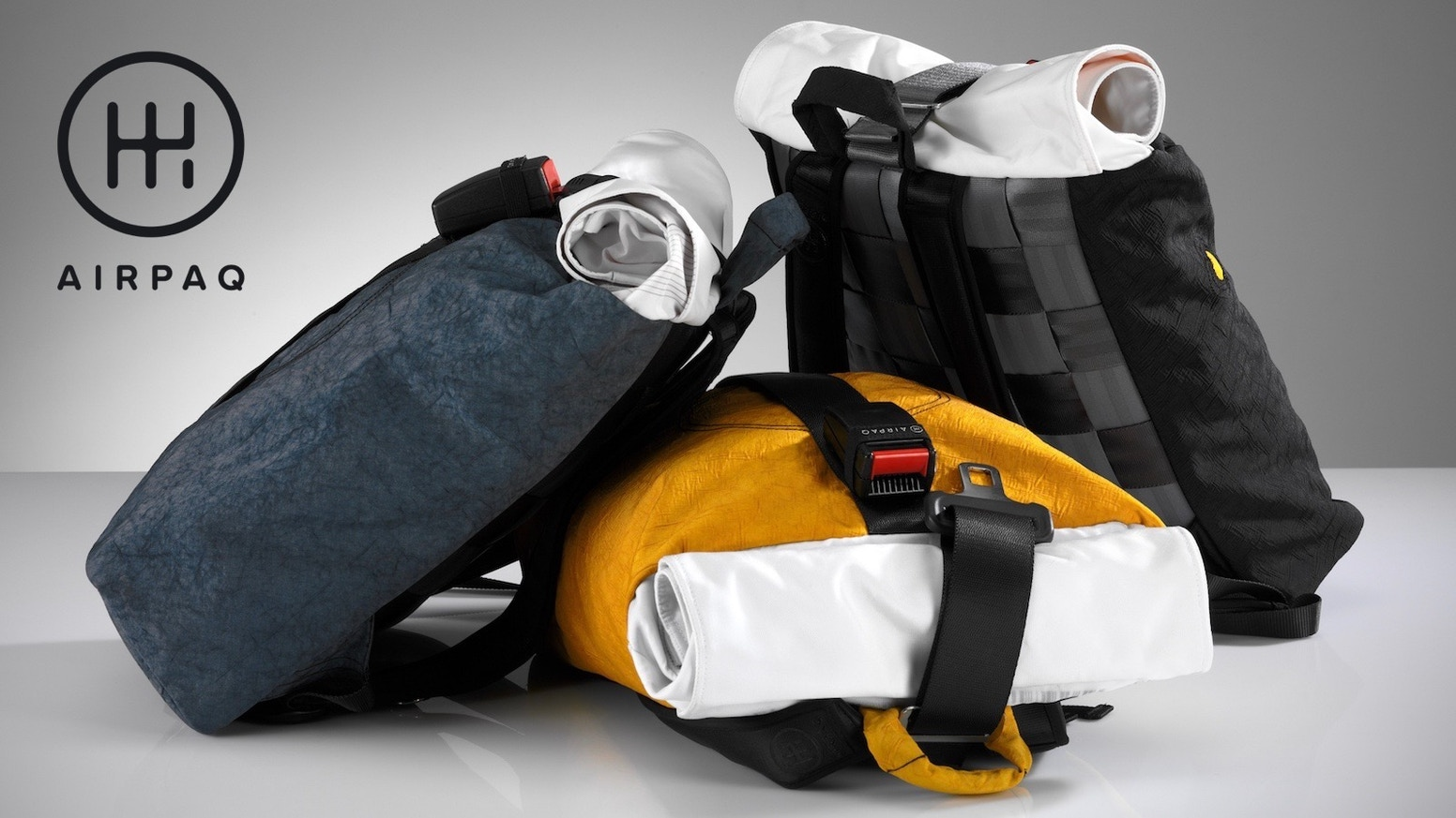 e4891304cb81 Airpaq - The Backpack Made From Airbags and Seat Belts by Airpaq ...