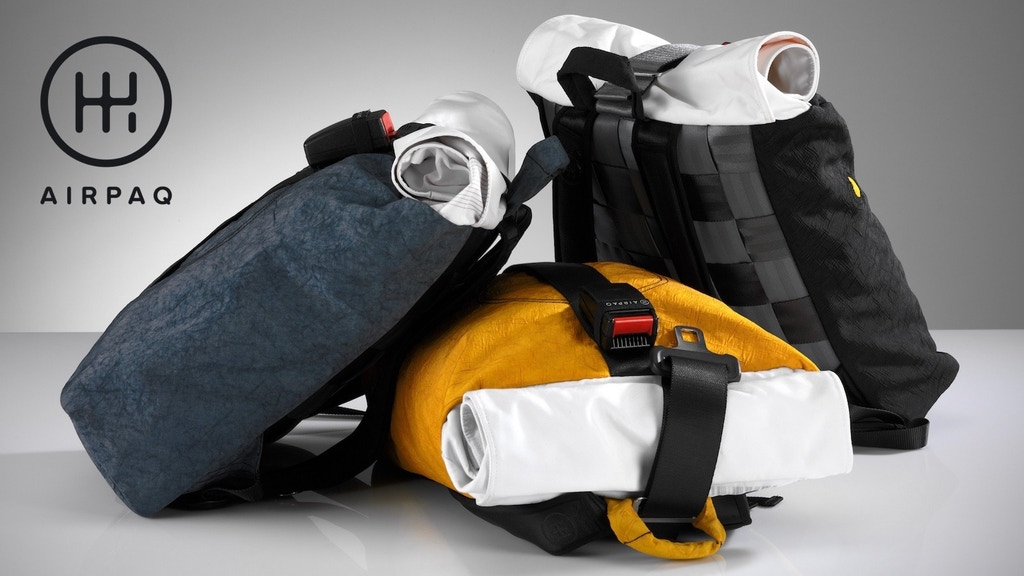Airpaq - The Backpack Made From Airbags and Seat Belts project video thumbnail