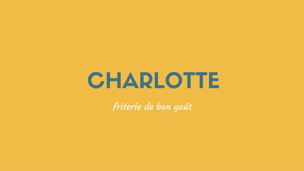 Charlotte - Friterie haut de gamme et de bon goût project video thumbnail